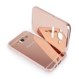 Etui Luxury Mirror Bumper Samsung Galaxy A5 Rose Gold