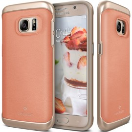 Etui Caseology Envoy Samsung Galaxy S7 Leather Pink
