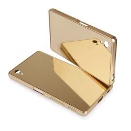 Etui Luxury Mirror Bumper Sony Xperia Z5 Gold