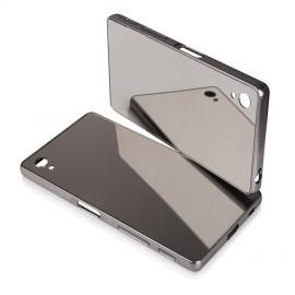 Etui Luxury Mirror Bumper Sony Xperia Z5 Grey
