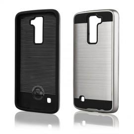Etui Motomo Case LG K8 Silver