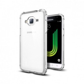 Etui Spigen Crystal Shell Samsung Galaxy J3 2016 Crystal Clear