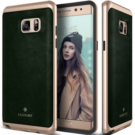 Etui Caseology Envoy Samsung Galaxy Note 7 Leather Green