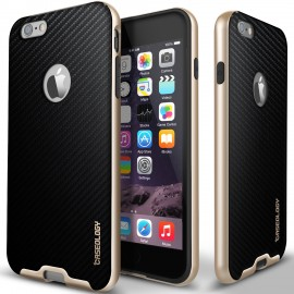 Etui Caseology Bumper Frame iPhone 6/6s Black Carbon