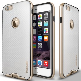 Etui Caseology Bumper Frame iPhone 6 Plus 6s Plus Carbon White