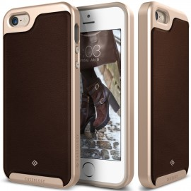 Etui Caseology Envoy iPhone 5 5s SE Leather Brown