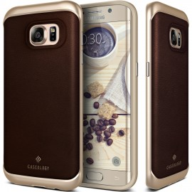 Etui Caseology Envoy Samsung Galaxy S7 Edge Leather Brown
