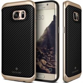 Etui Caseology Envoy Samsung Galaxy S7 Carbon Fiber Black