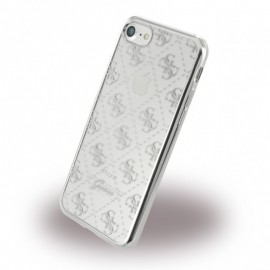 Etui Guess 4G Transparent iPhone 7 Silver