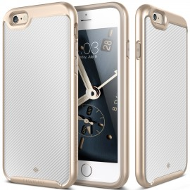 Etui Caseology Envoy iPhone 6 6s Carbon Fiber White