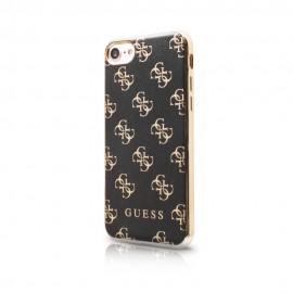 Etui Guess 4g Soft Case iPhone 7 Black/Gold