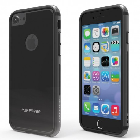 Etui PureGear GlassBack 360 iPhone 7 4,7'' Black