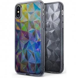 Etui Ringke Air Prism Glitter iPhone X Gray