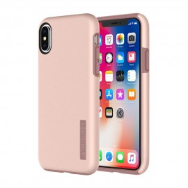 Etui Incipio iPhone X DualPro Iridescent Rose Gold
