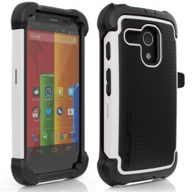 Ballistic Tough Jacket Maxx Motorola Moto G White/Black
