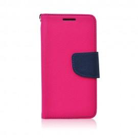 Etui Kabura Fancy Book Samsung Galaxy J3 2017 Pink/Navy
