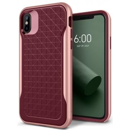 Etui Caseology iPhone X Apex Burgundy