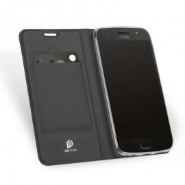 Etui DuxDucis SkinPro Moto G5s Grey + Szkło