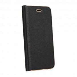 Etui Kabura Luna Book Samsung Galaxy J5 2017 Black / Gold