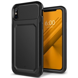 Etui Caseology iPhone X Nero Tough Black