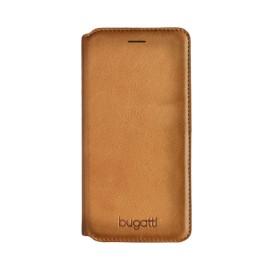 Etui Bugatti Samsung Galaxy S8+ Booklet Parigi Cognac