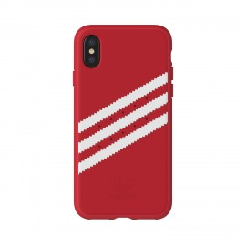 Etui Adidas iPhone X Suede Moulded Red