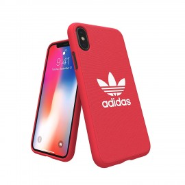 Etui Adidas iPhone X Adicolor Red