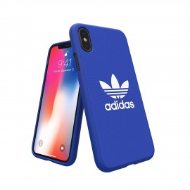 Etui Adidas iPhone X Adicolor Blue