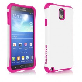 Ballistic Urbanite Samsung Galaxy Note 3 White/Hot Pink