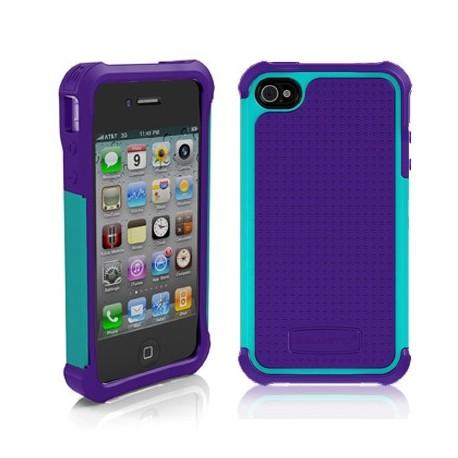 Ballistic Tough Jacket iPhone 4/4s Purple/Teal