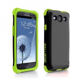 Ballistic Urbanite Samsung Galaxy S3 Black/Lime Green
