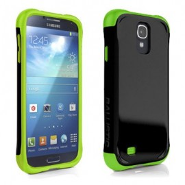 Ballistic Urbanite Samsung Galaxy S4 Black/Lime Green