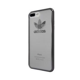 Etui Adidas iPhone 7 Plus / 8 Plus Clear Case Logo Gun Metal