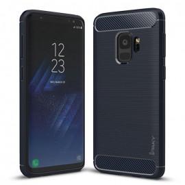Etui iPaky Samsung Galaxy S9 Slim Carbon Blue