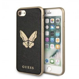 Etui Guess Iphone 7 / 8 Butterfly Saffiano Black