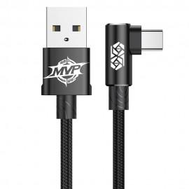 Kabel USB-C Baseus MVP Elbow Black