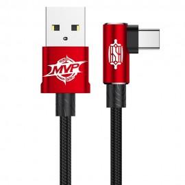 Kabel USB-C Baseus MVP Elbow Red