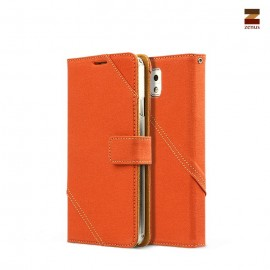 Zenus Cambridge Diary Samsung Galaxy Note 3 Orange