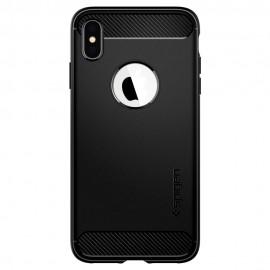 Etui Spigen iPhone Xs Max Rugged Armor Black