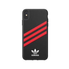 Etui Adidas iPhone Xs Max Moulded Black / Red