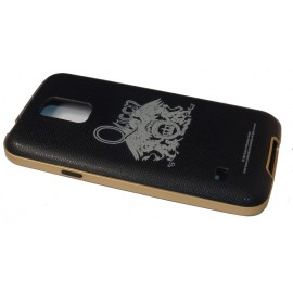 Avoc Barcelona Queen Crest Samsung Galaxy S5 Black