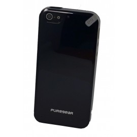 PureGear Slim Shell iPhone 5 5s Black Tea
