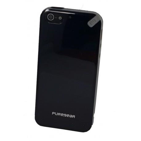 PureGear Slim Shell iPhone 5 5s Black Tea