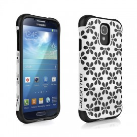 Ballistic Urbanite Samsung Galaxy S4 White/Black Flowers