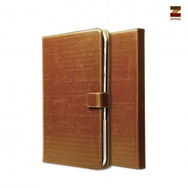 "Zenus Lettering Diary Samsung Galaxy Tab 3 10,1"" Brown"