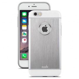 Moshi iGlaze Aluminum Armour iPhone 6 Plus Silver