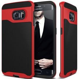 Etui Caseology Wavelenght Samsung Galaxy S6 Edge Black/Red
