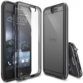 Etui Rearth Ringke Fusion HTC One A9 Smoke Black