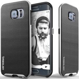 Etui Caseology Envoy Samsung Galaxy S6 Edge Metallic Mesh Silver