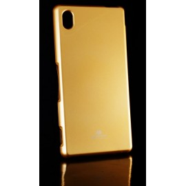 Mercury Jelly Case Sony Xperia M4 Aqua Gold